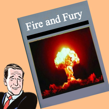 Henry Holt Publishing 'Fire and Fury' by Michael Wolff, on Jan. 9