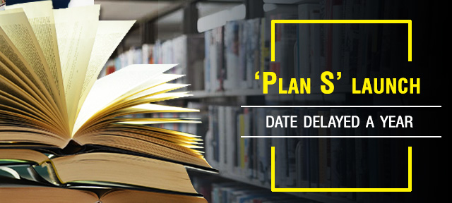'Plan S' launch date delayed a year