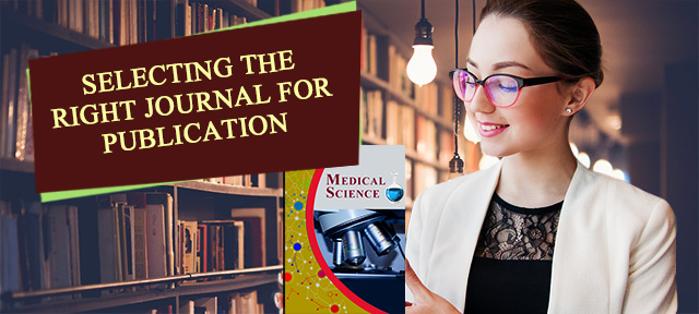 Selecting the right journal for publication