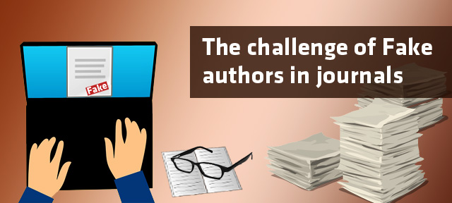 The challenge of Fake authors in journals