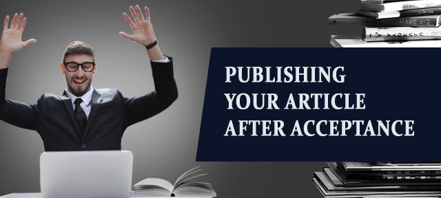 Publishing your article after Acceptance