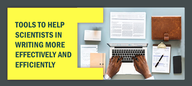 Tools to help scientists in writing more effectively and efficiently