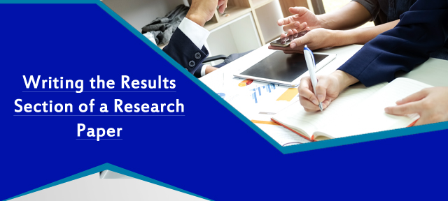 Writing the Results Section of a Research Paper